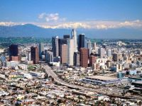 États-Unis Los Angeles, Californie, Los Angeles downtown