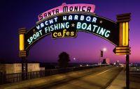 États-Unis Los Angeles, Californie, Santa Monica Pier