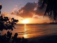 France d'Outre-Mer Martinique, Coucher de soleil en Martinique