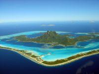 France d'Outre-Mer Tahiti, Atoll Bora-Bora à Tahiti